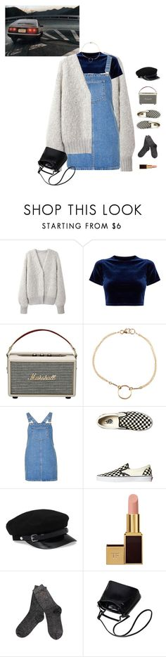 """""""5 Miles."""" by greciapaola ❤ liked on Polyvore featuring Marshall, Dogeared, Topshop, Vans, Tom Ford and Ted Baker"""