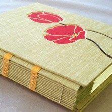 poppy handmade book by Joanne Kluba