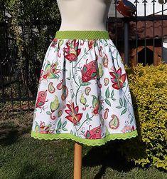 ZuzanaFalk / sukňa veselá Midi Skirt, Floral, Skirts, Fashion, Moda, Midi Skirts, Fashion Styles, Flowers, Skirt