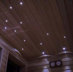 LED lights for sauna ceiling Sauna Lights, Sauna Ideas, Sauna Design, Sauna Room, Saunas, Bathroom Inspiration, Tub, Outdoor Living, Bathrooms