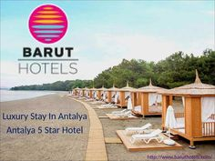 Enjoy your holidays in Barut Hotel in Harmony with Mother Nature, where the sun, the ocean and the quality of fun and excellence. Antalya, 5 Star Hotels, Mother Nature, Ocean, Sun, Holidays, Luxury, Holidays Events, Holiday