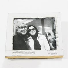 Make yourself a photo frame from a book with this simple DIY