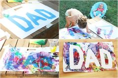 Vatertagsgeschenke basteln mit Kindern jedes Alters - 17 tolle Ideen