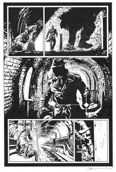 Before Watchmen - Rorschach par Lee Bermejo - Planche originale