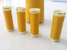 how to decant thread from an overlocker cone to standard spools (9)