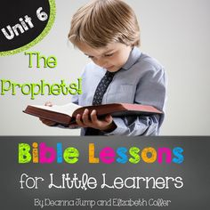 Unit 6  Bible Lessons for Little Learners K-1. Just print and teach! This resource contains everything you need to conduct successful, whole group Bible lessons. All of the lessons are scripture based and follow a biographical scope and sequence.***************************************************************************Unit 6 theme: The ProphetsDaniel and the Lion's DenElijahGideonJob**************************************************************************Included in each lesson:  (See…