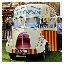 The ice cream man, the ice cream man!!!!