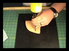 How to make a custom Leather Holster from a pattern 1 of 3