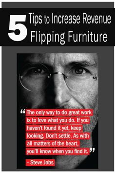 5 tips to increase revenue flipping furniture - How To Flip Furniture