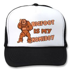 Bigfoot Is My Homeboy Mesh Hat by funnybizness