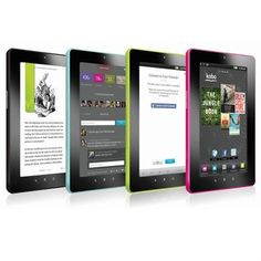"""$60 - Google Android 8GB Kobo VOX 7"""" Capacitive Touchscreen Tablet"""
