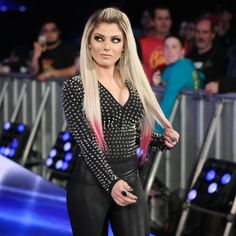 """Alexa Bliss saunters to the ring to host """"A Moment of Bliss."""" South Indian Actress SOUTH INDIAN ACTRESS 