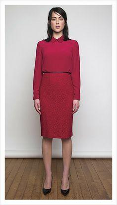 tabitha blouse & edie skirt | winter 2014 collection | juliette hogan