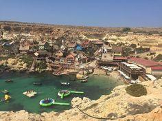 The #popeye village films set in #malta #travel # #holishay