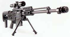 8. Accuracy International AS50 Sniper Rifle