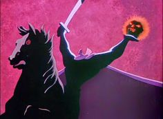 Year of the Villain: The Headless Horseman from The Adventures of Ichabod and Mr. Toad #disneyvillain