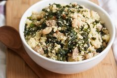 Trying IUI Again / Kale and Bean Couscous Recipe for Fertility