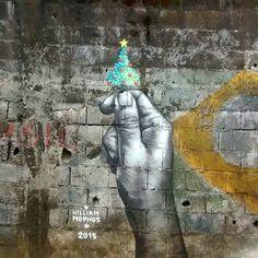 William Mophos Paints Economical Issues on Street.|CutPasteStudio| Illustrations, Entertainment, beautiful,creativity, Art, Artwork,Artist, street art, murals, graffiti art, paintings.