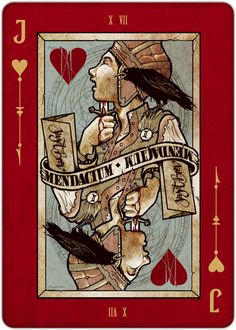 Playing Cards - Jack Of Hearts, REQUIEM Playing Cards Deck by Lorenzo Gaggiotti - playingcards, playingcardsart, playingcardsforsale, playingcardswithfriends, playingcardswiththefamily, playingcardswithfamily, playingcardsgame, playingcardscollection, playingcardstorage, playingcardset, playingcardsfreak, playingcardsproject, cardscollectors, cardscollector, playing_cards, playingcard, design, illustration, cardgame, game, cards, cardist