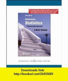 Elementary Statistics A Brief Version (9780070172005) Allan G. Bluman , ISBN-10: 0070172005  , ISBN-13: 978-0070172005 ,  , tutorials , pdf , ebook , torrent , downloads , rapidshare , filesonic , hotfile , megaupload , fileserve