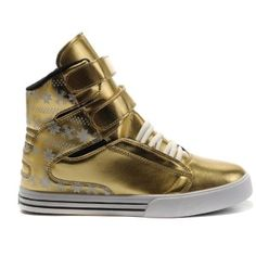 Supra Tk Society Purple Gold Silver Patent Lakers High Top Men