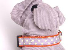 Nieten - Hundehalsband FRESH von stitchbully von stitchbully.de für Hunde auf DaWanda.com