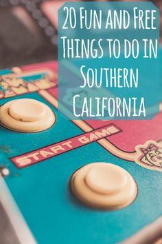20 Fun & Free Things to do in Southern California | Togetherish.com