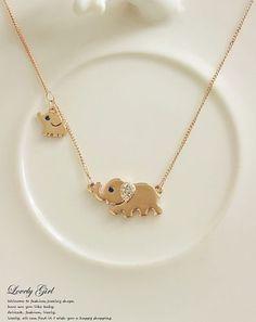 Cheap Elephant Family paseo diseño moda mujeres encanto collar de cadena cristalino, Compro Calidad directamente de los surtidores de China: Color: plata, oro Cantidad: 1 pieza Tamaño (aproximado) Elefante 21mm en Wedth Pequeño elefante 12mm en Wedth Tamaño de