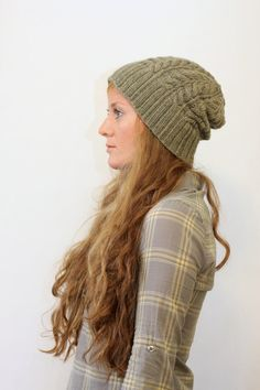 KATHLEEN // hat worsted cable rib toque knitting by janerichmond
