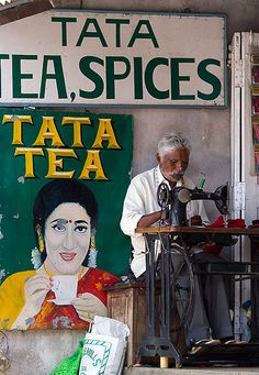 Tailor, Munnar Market, India, by molecule Mike, via Flickr