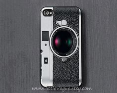 Vintage camera iPhone Case iphone cover iPhone 4 by LittleVogue, $9.99 FOR ERIC
