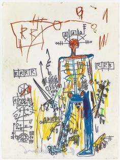 Jean-Michel Basquiat, Untitled, 1982✖️More Pins Like This One At FOSTERGINGER @ Pinterest✖️