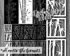 9 Pcs bundle partitions room divider files vector panel | Etsy Room Divider Screen, Room Screen, Autocad, Vector File, Vector Art, Garden Furniture Sale, Modern Fence Design, Laser Cut Panels, Laser Cut Stencils
