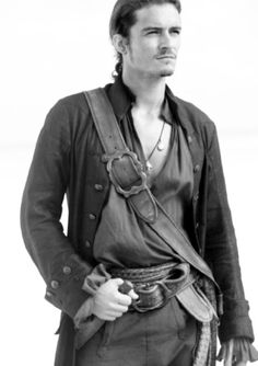Orlando Bloom in Pirates of the Caribbean- At World's End.
