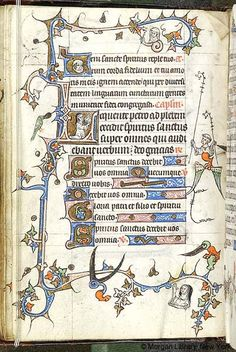 Book of Hours, MS M.754 fol. 12v - Images from Medieval and Renaissance Manuscripts - The Morgan Library & Museum