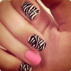 oooh love the zebra with pink. Something about this colour combination just makes it amazing