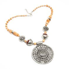 @Overstock - A fun departure from the serious pieces in your jewelry box, this casual necklace will become a favorite for your 'off hours' wardrobe. http://www.overstock.com/Worldstock-Fair-Trade/Charm-and-Wood-Necklace-India/6788444/product.html?CID=214117 $10.87