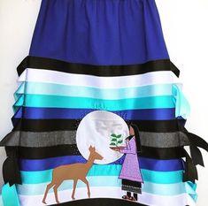 Haudenosaunee (Mohawk) ribbon skirt: https://instagram.com/p/BRm0wGkAdS6/