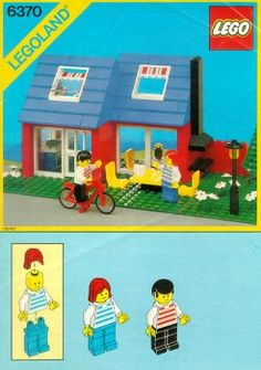 Thousands of complete step-by-step printable older LEGO® instructions for free. Here you can find step by step instructions for most LEGO® sets. Old Lego Sets, Lego City Sets, Lego Club, Weekend House, Vintage Lego, Lego Group, Lego Architecture, Lego Instructions, Kids