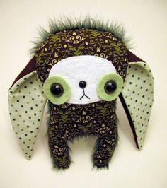 sweet big eyed monster #Stuffed Animals| http://stuffedanimals.lemoncoin.org