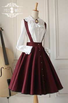 Cheap Vintage Gothic Ruffles Big Cardigans Lolita Strap Dresses Sale At Lolita Dresses Online Shop. We provide Lolita products with quality and best service online, lower price and top style fashion for you. Pretty Outfits, Pretty Dresses, Beautiful Dresses, Cute Outfits, Emo Outfits, Old Fashion Dresses, Fashion Outfits, Vintage Dresses, Vintage Outfits