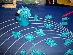 příprava na dort krtečka a paraplíčko , figurky, fotopostupy | Dorty od mamy Desserts, Tailgate Desserts, Deserts, Postres, Dessert, Plated Desserts