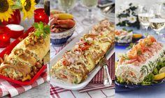 Här hittar du recept på 5 pannkaksrullar med läckra och krämiga fyllningar. Sandwich Cake, Sandwiches, Banana Cream, Crepes, Eat Cake, Entrees, Sushi, Pancakes, Brunch