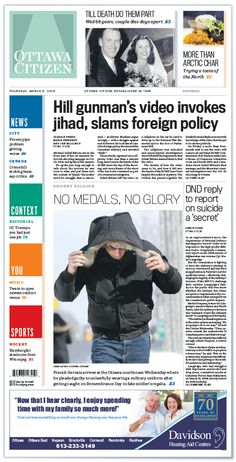 New guide will offer food for thought (Ottawa Citizen), 22 janv