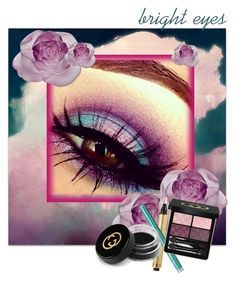 """Bright Eyes"" by rurustarr ❤ liked on Polyvore featuring beauty, Daum, Yves Saint Laurent, TONYMOLY, Gucci, contest, Beauty, Sky, brighteyes and radianttouch"