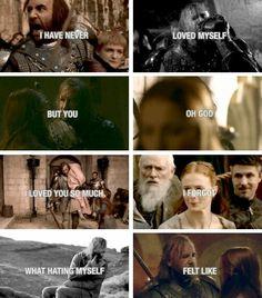 Game of Thrones - Sandor Clegane & Sansa Stark