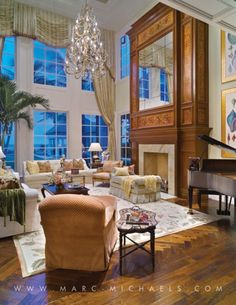 View our luxury interior design portfolio for Florida and see why Marc-Michaels has won over 400 interior decorating awards worldwide.