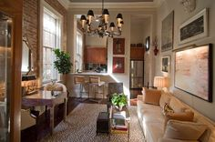 Chad's Small Space Glamour in New Orleans  House Call
