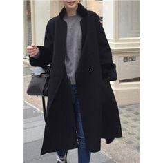 Long Section Large Thick Cloak Woolen Coat | Victoriaswing