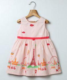 Look what I found on #zulily! Light Pink Paris Dress - Infant, Toddler & Girls #zulilyfinds